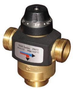 """Трипътен разделителен вентил 1""""MMM 38-54°C BRV 780R"""
