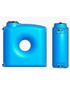 Резервоар за питейна вода 1500 л паралелепипед Elbi CPZ, син цвят