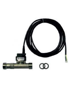 "Сензор за дебит и температура VFS2-40L/min 0-100°C 3/4"" INOX"