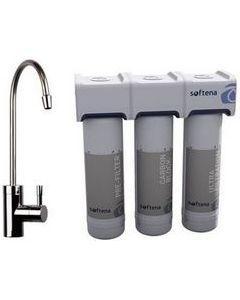 Филтрираща система за питейна вода с 3-степенна филтрация Erie Softena POU 3
