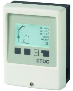 Соларнo управление,диференциален терморегулатор (без температурни сензори)
