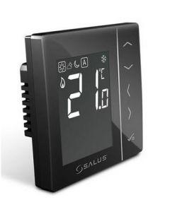 Дневен цифров регулатор на температура, черен Salus VS35B
