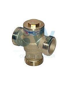 """Антикондензационен (Термовентил) за котли до 32kW BRV 746 1"""" външни резби, 55 °C"""