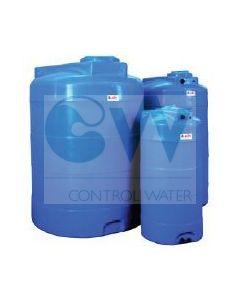Резервоар за питейна вода  1000 л вертикален Elbi CV, син цвят