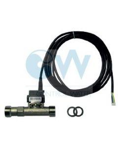 "Сензор за дебит и температура VFS1-12L/min 0-100°C 3/4"" INOX"