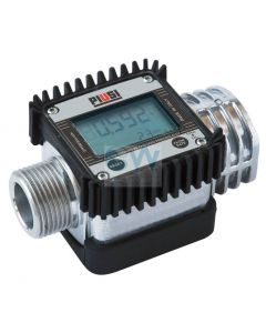 """Електронен брояч с дисплей 7-120 l/min, 1"""" Piusi K24-A"""