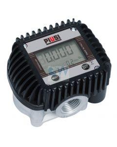 "Електронен брояч с дисплей 1-30 l/min 1/2"" Piusi K400"
