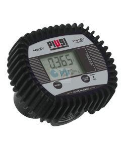 """Електронен брояч с дисплей 6-60 l/min 3/4"""" (за масла) Piusi NEXT/2"""