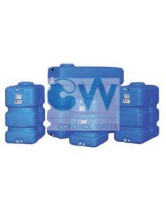 Резервоар за питейна вода 2000 л паралелепипед Elbi CP, син цвят