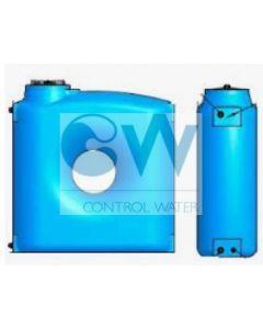 Резервоар за питейна вода 2000 л паралелепипед Elbi CPZ, син цвят