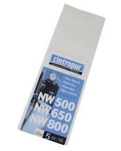 Резервни филтриращи елементи за  NW50, NW62, NW75, NW500, NW650, NW800 (5 броя)
