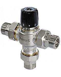 """Трипътен смесителен вентил 3/4"""" с холендри 30÷65°С BRV 799"""