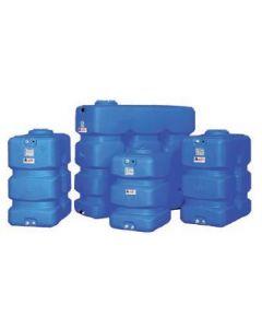Резервоар за питейна вода 1000 л паралелепипед Elbi CP, син цвят