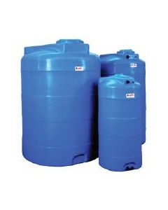 Резервоар за питейна вода 2000 л вертикален Elbi CV, син цвят