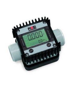 "Piusi K24 AdBlue 1"" Електронен брояч за AdBlue и вода, 5-120 l/min"