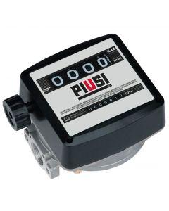 """Механичен брояч за горива, 20-120 l/min, 1"""" Piusi K44"""