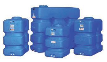 Резервоари за питейна вода паралелепипед